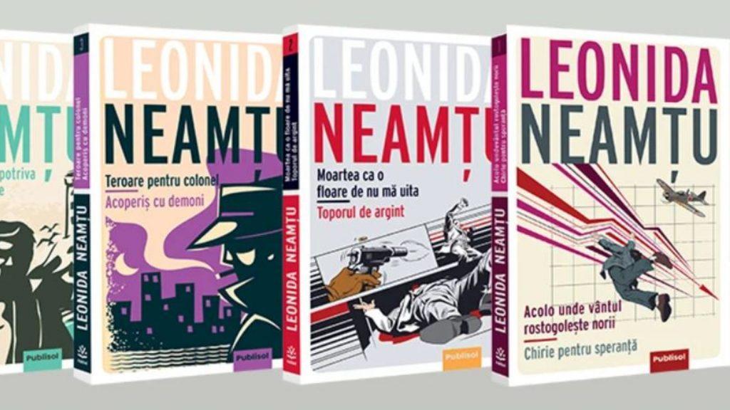 Cărți scrise de Leonida Neamțu, la Editura Publisol.